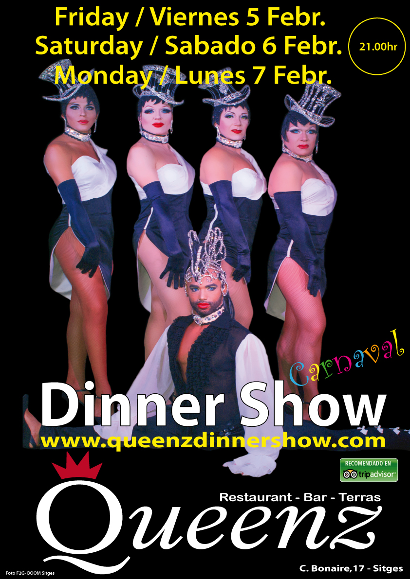 dinner show sitges