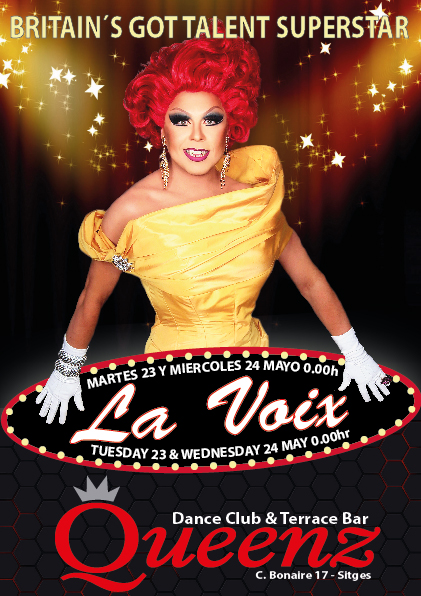 Come and see the famous La Voix, Britain´s Got Talent winner